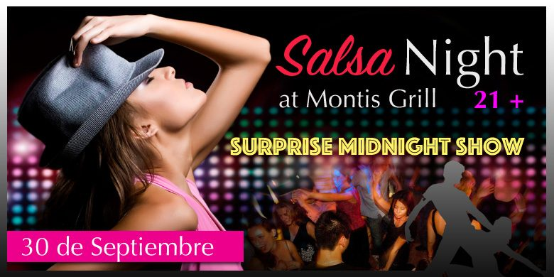 Salsa Night at Montis Grill